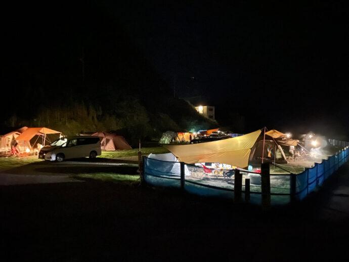 夜の海サイト